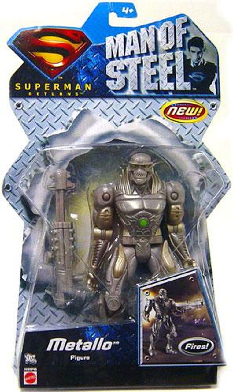 Superman Returns Metallo Action Figure