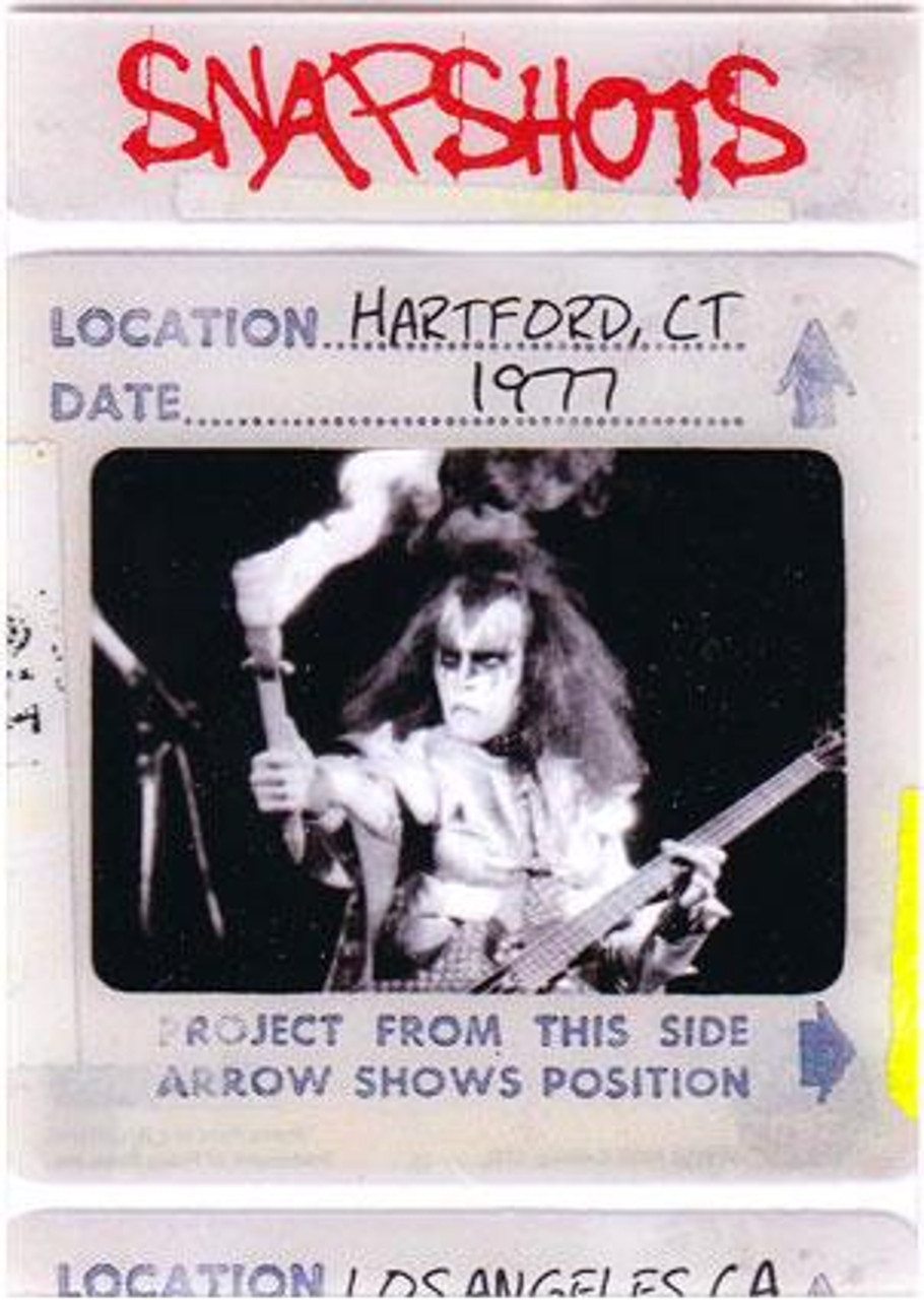 KISS 360 Degrees Snapshots Card Hartford, CT 1977 #11/12