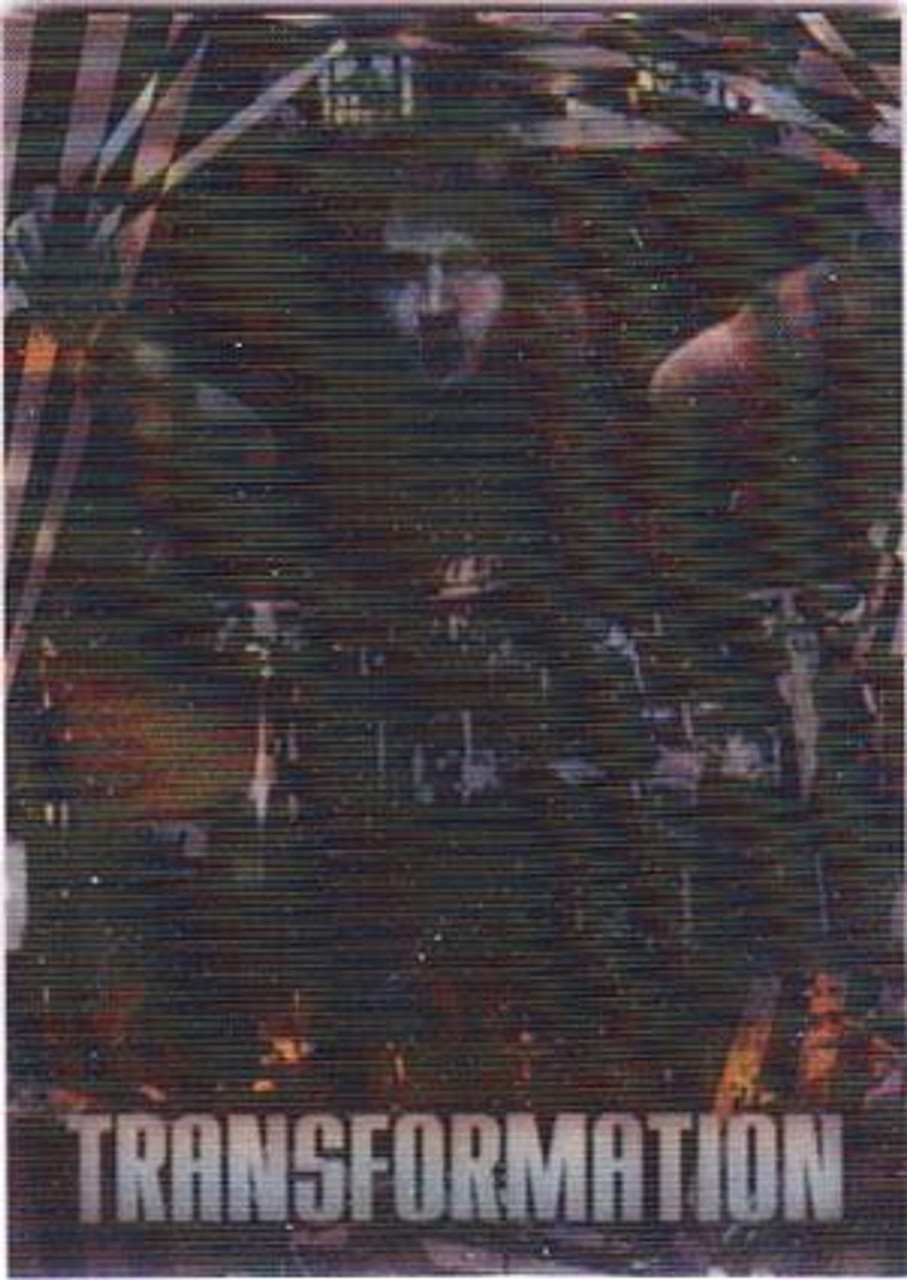 KISS 360 Degrees Transformation Card Eric Singer To Catman #6/6