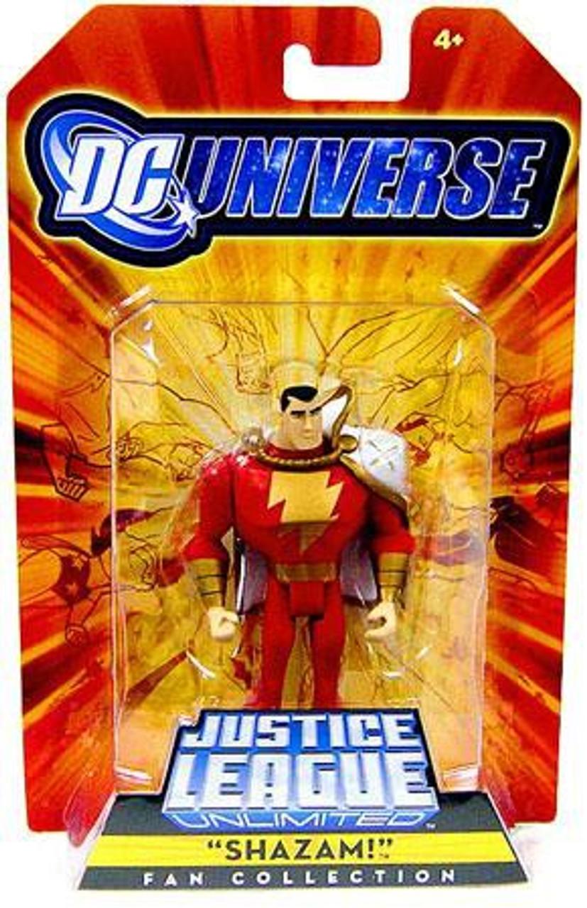 DC Universe Justice League Unlimited Fan Collection Shazam Exclusive Action Figure