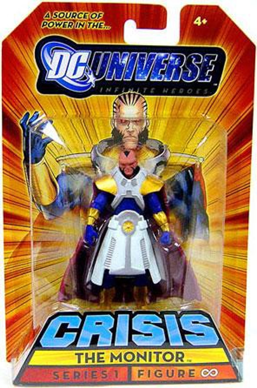 DC Universe Crisis Infinite Heroes Series 1 The Monitor Exclusive Action Figure #8 (Infinity)