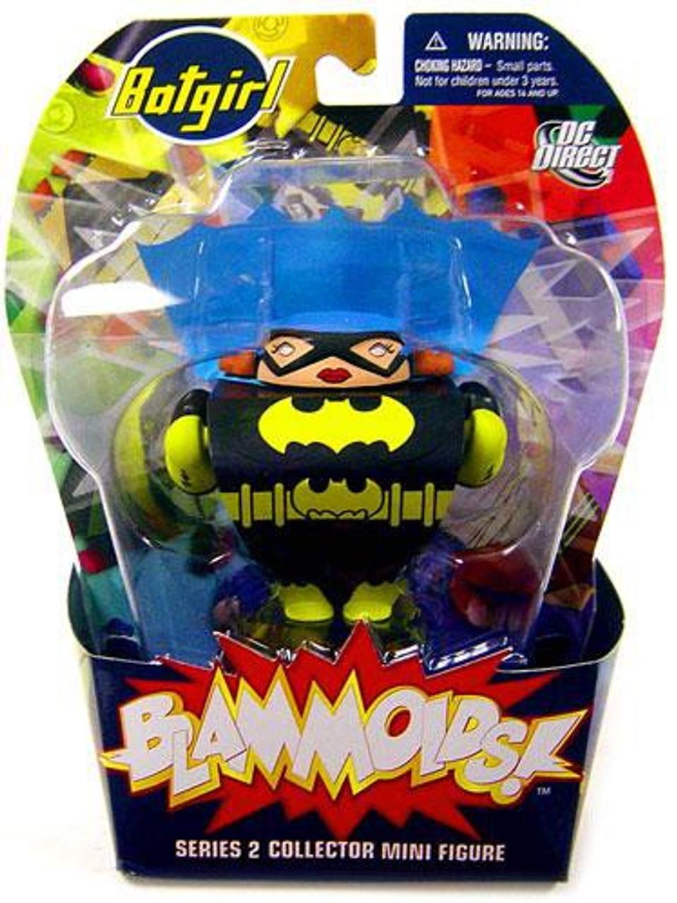DC Blammoids Series 2 Batgirl Mini Figure