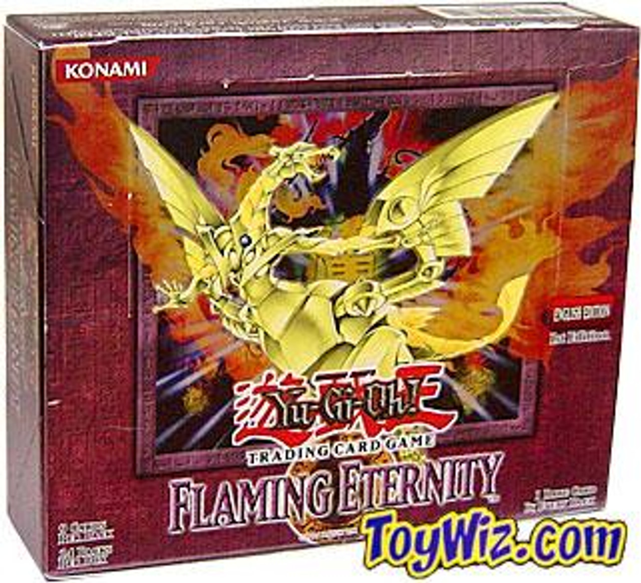 YuGiOh Flaming Eternity (1st Edition) Booster Box [24 Packs] [Sealed]