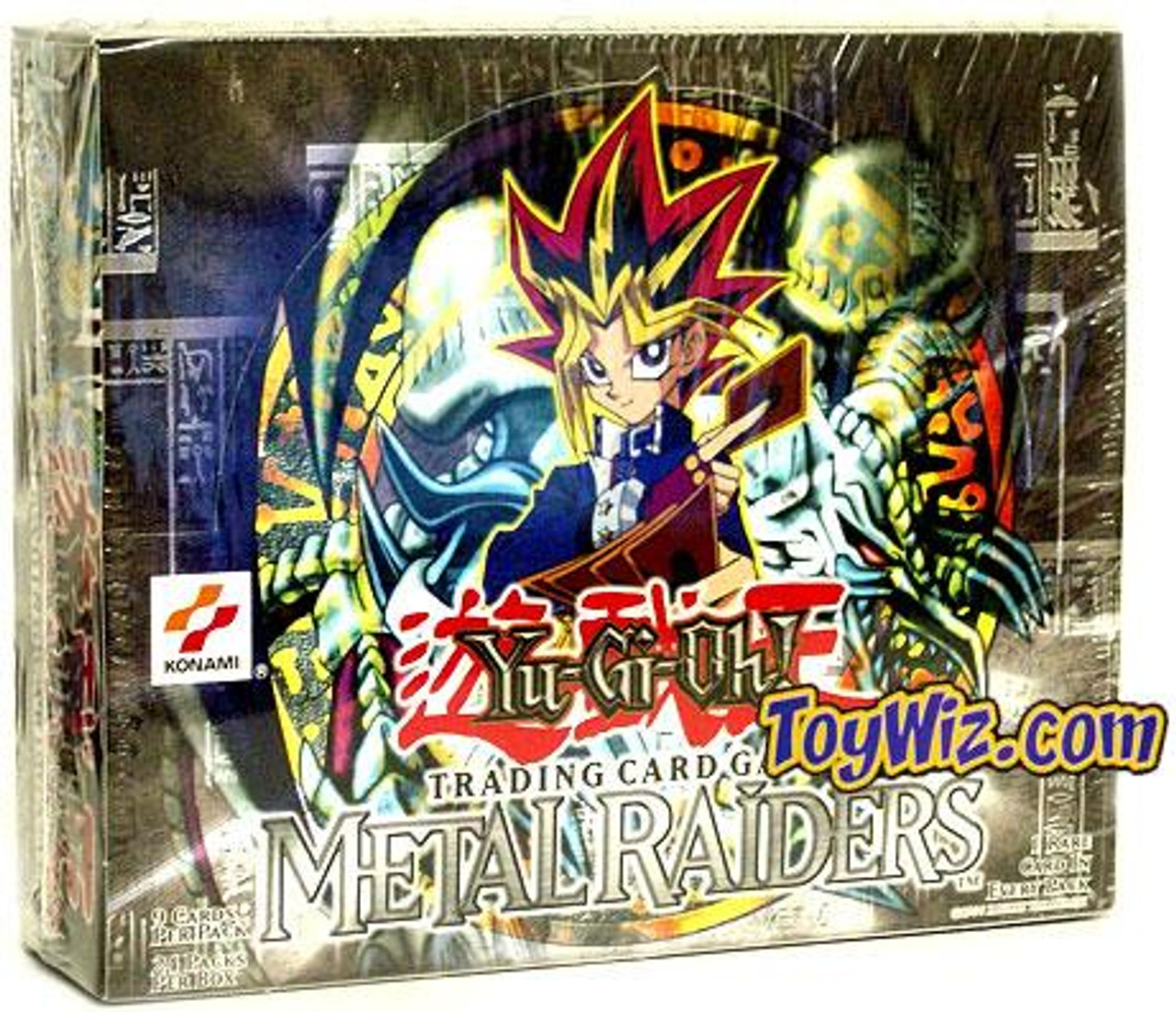 YuGiOh Metal Raiders (1st Edition) Booster Box [24 Packs] [Sealed]