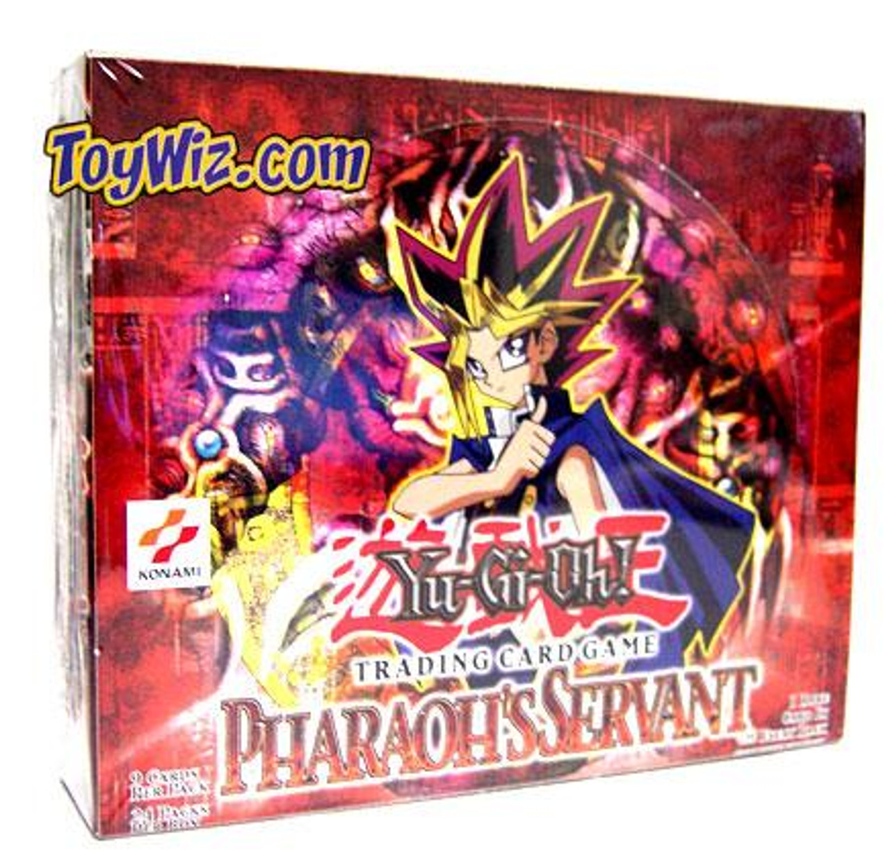 YuGiOh Pharaoh's Servant (Unlimited Edition) Booster Box [24 Packs] [Sealed]