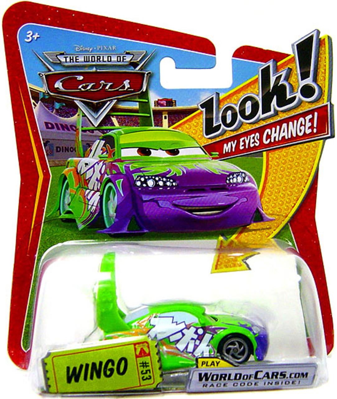 Disney Cars The World of Cars Lenticular Eyes Series 1 Wingo Diecast Car