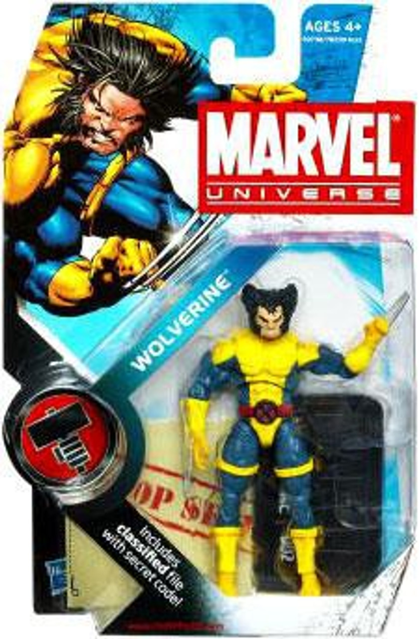 Marvel Universe Series 6 Wolverine Action Figure #2 [Normal Head]
