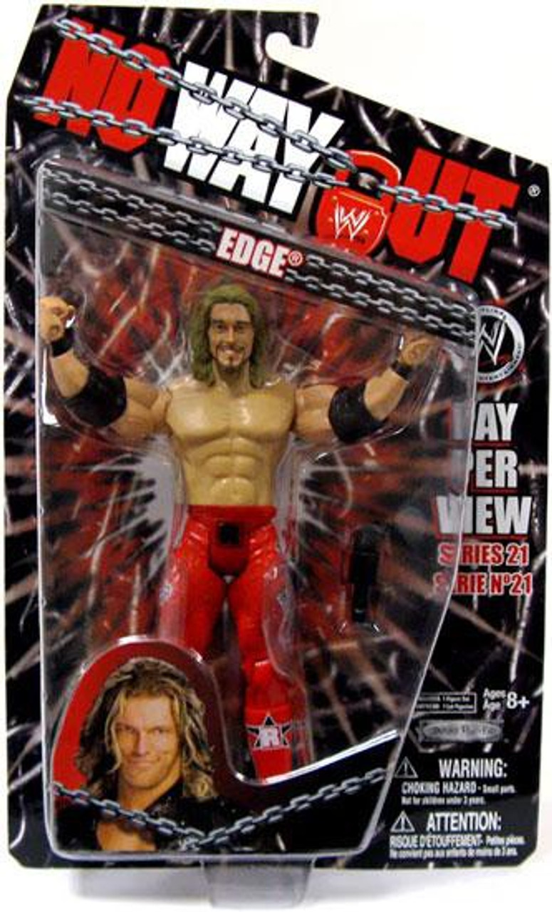 WWE Wrestling Pay Per View Series 21 No Way Out Edge Action Figure