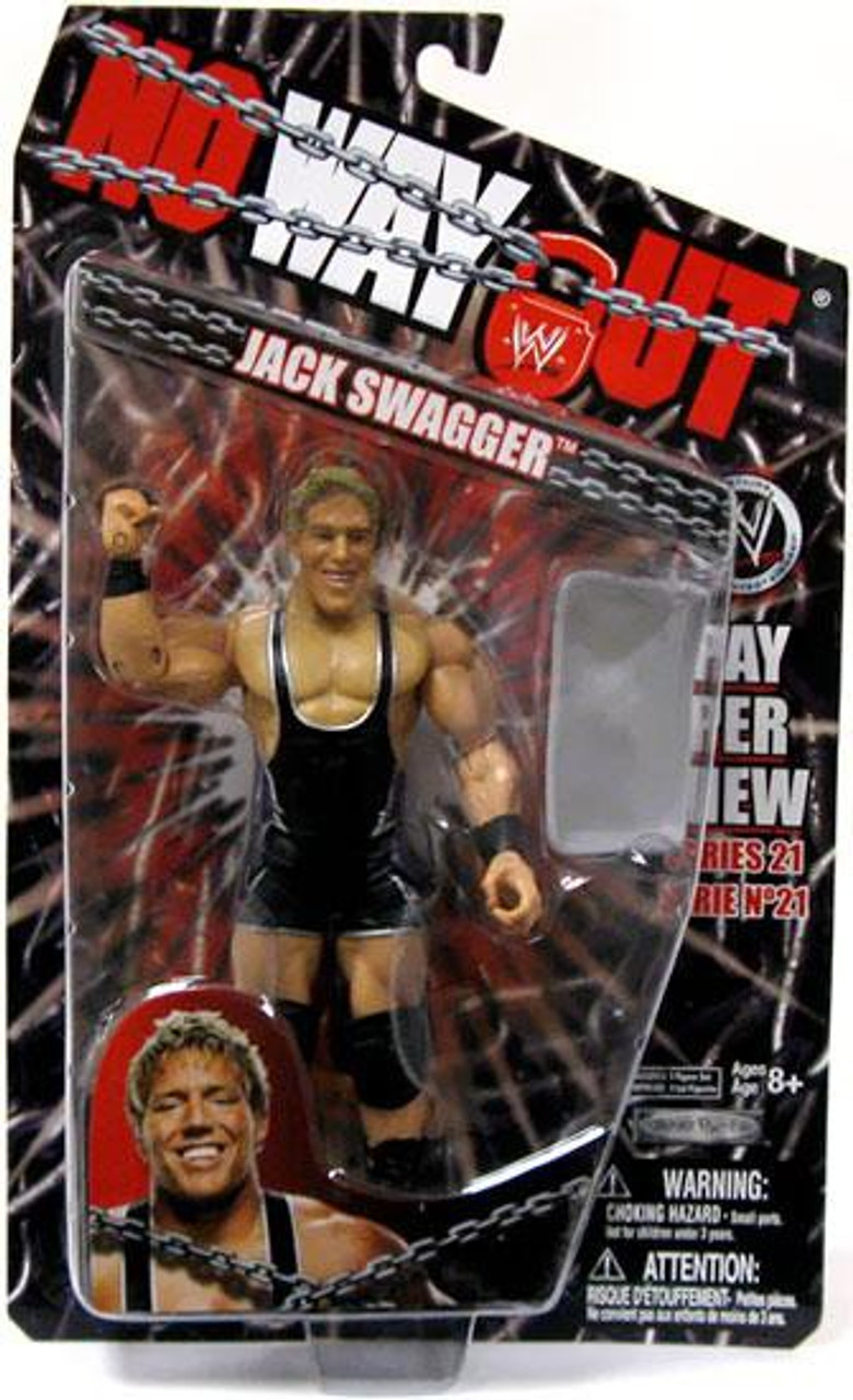 WWE Wrestling Pay Per View Series 21 No Way Out Jack Swagger Action Figure