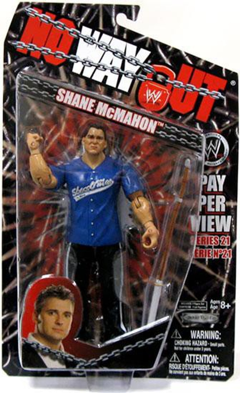 WWE Wrestling Pay Per View Series 21 No Way Out Shane McMahon Action Figure
