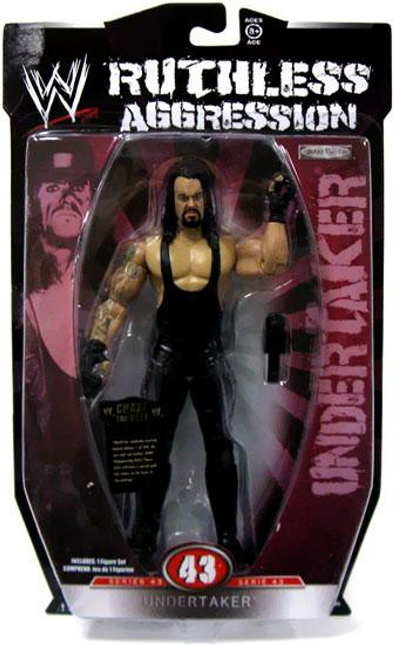 WWE Wrestling Ruthless Aggression Series 43 Undertaker Action Figure