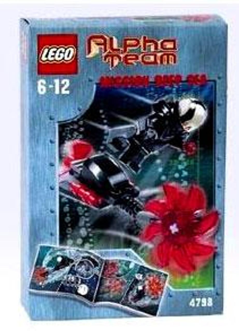 LEGO Alpha Team Mission Deep Sea Evil Ogel Attack Set #4798