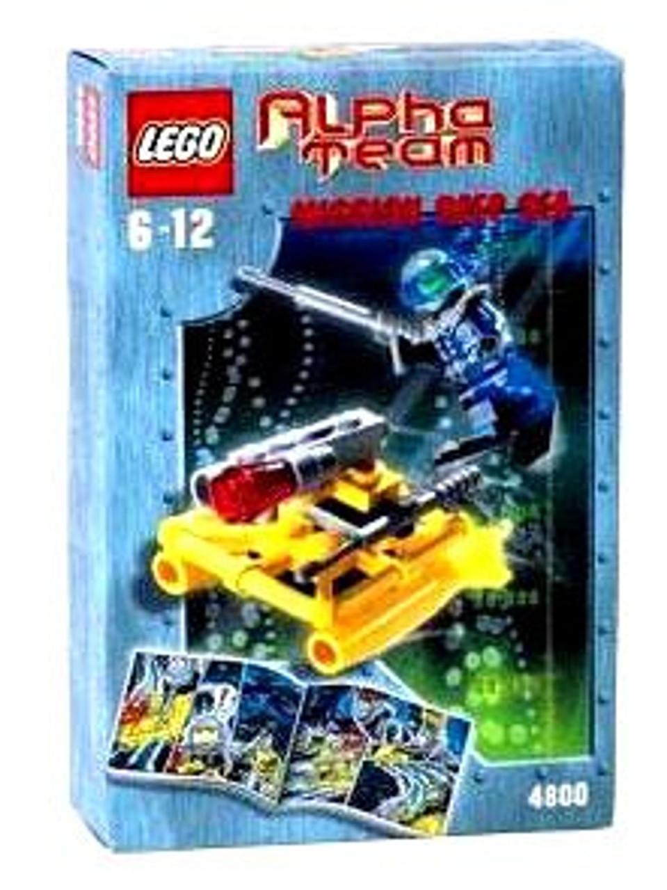 LEGO Alpha Team Mission Deep Sea AT Jet Sub Set #4800