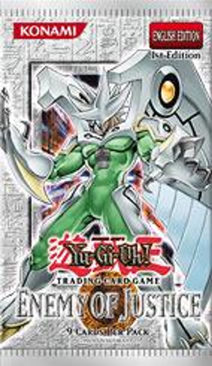 YuGiOh Enemy of Justice Booster Pack