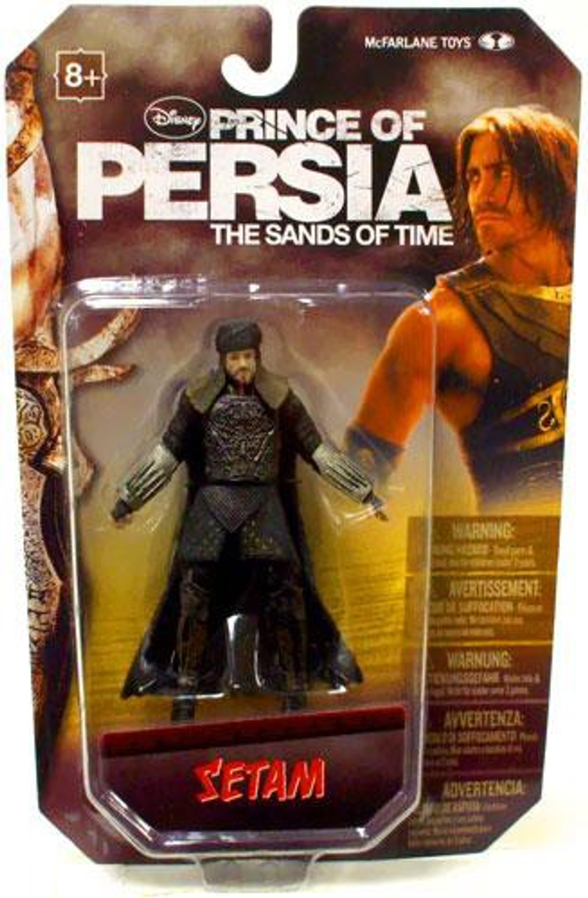 McFarlane Toys Prince of Persia The Sands of Time 4 Inch Setam Action Figure