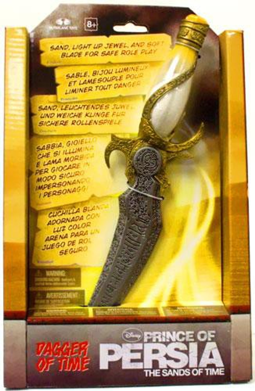 McFarlane Toys Prince of Persia The Sands of Time Dagger of Time Prop Replica