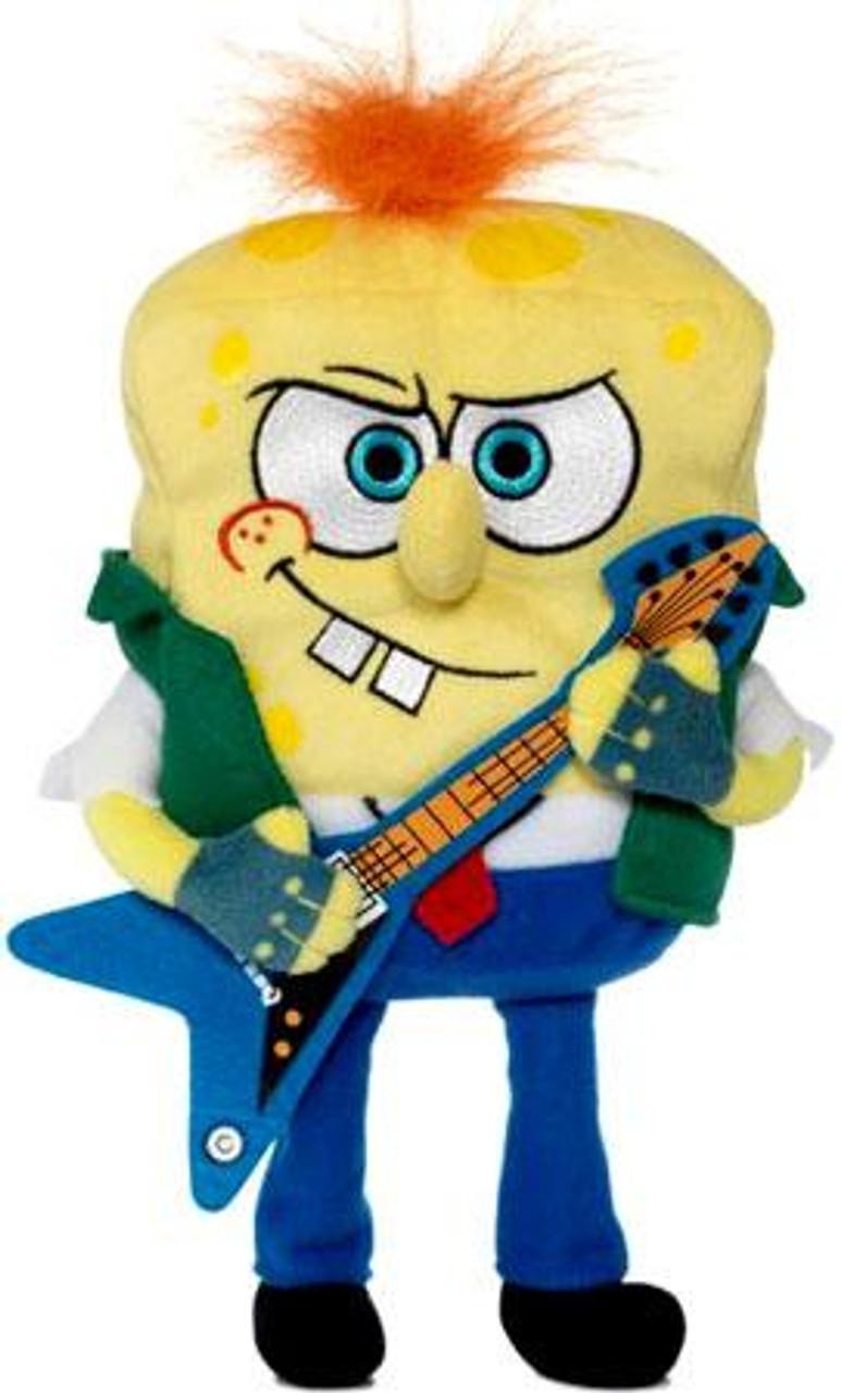 Spongebob Squarepants RockerBob PunkPants 6-Inch Plush