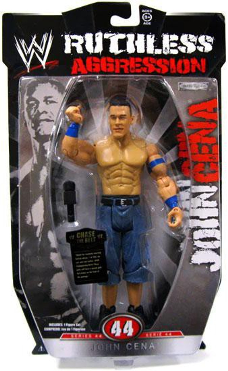 WWE Wrestling Ruthless Aggression Series 44 John Cena Action Figure