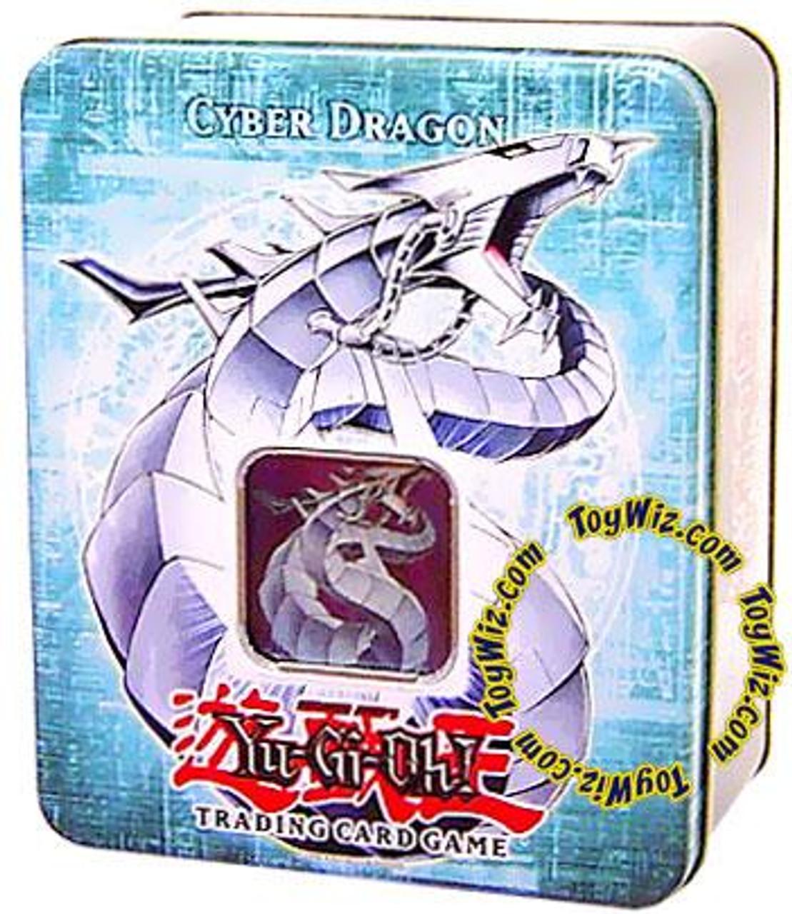 YuGiOh GX 2006 Collector Tin Cyber Dragon Collector Tin [Sealed]