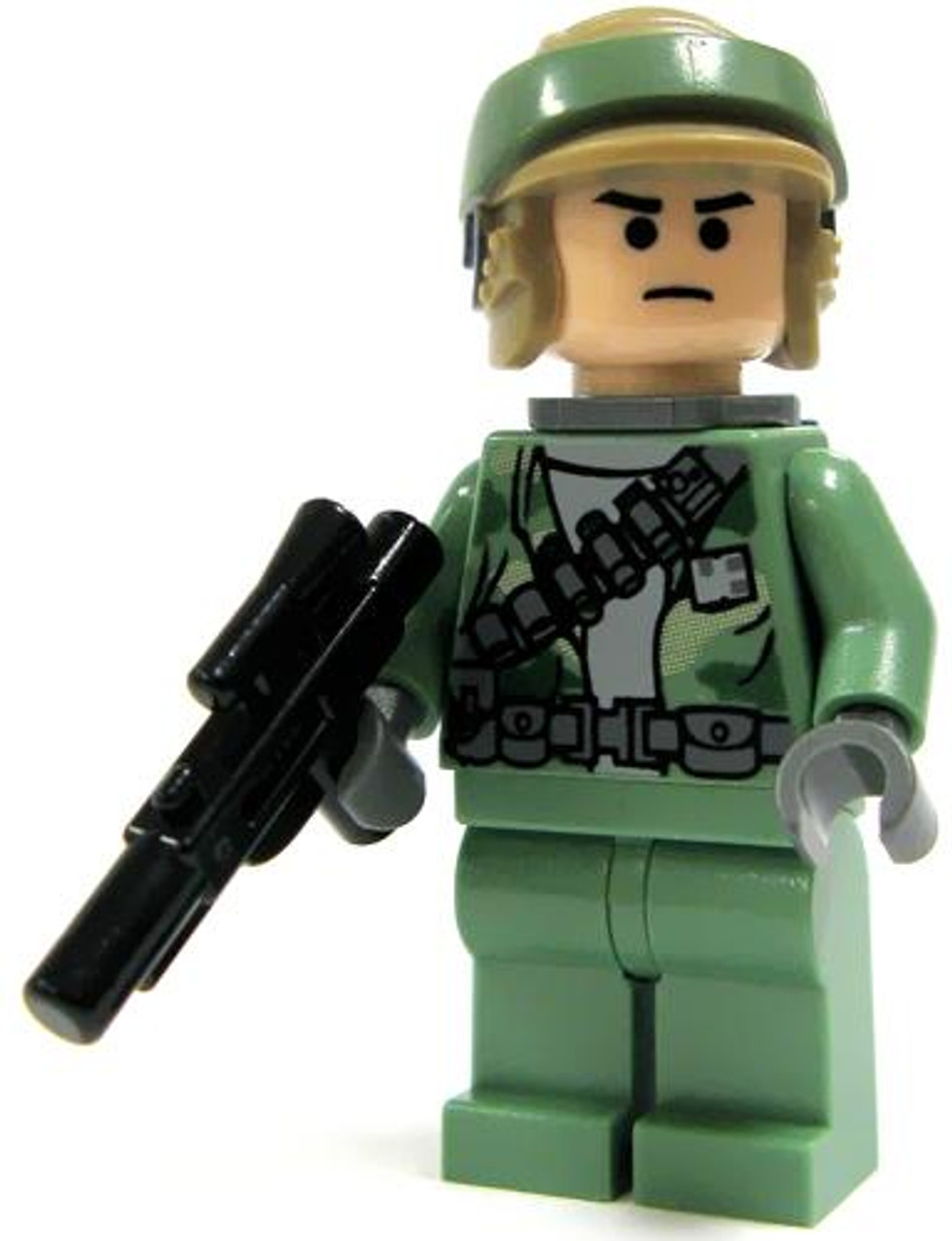 LEGO Star Wars Loose Rebel Commando Minifigure [Clean-Shaven Loose]