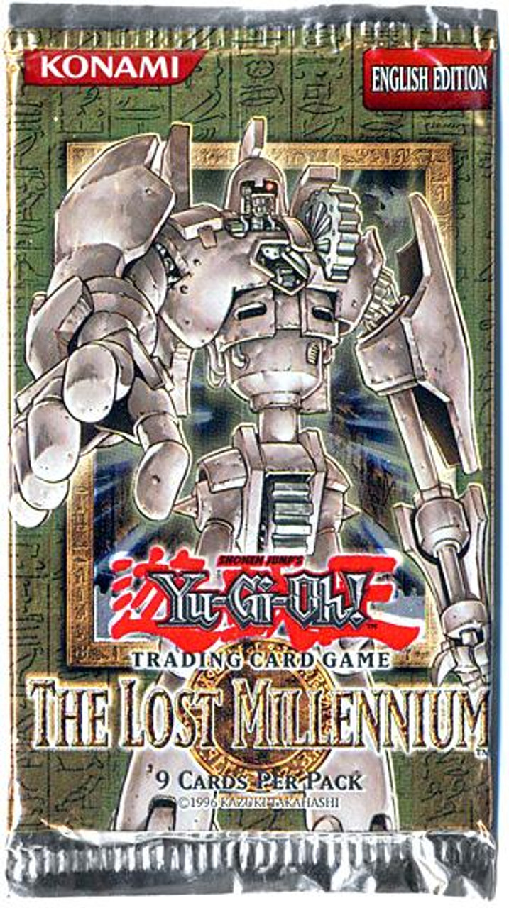 YuGiOh The Lost Millennium Booster Pack [Unlimited]