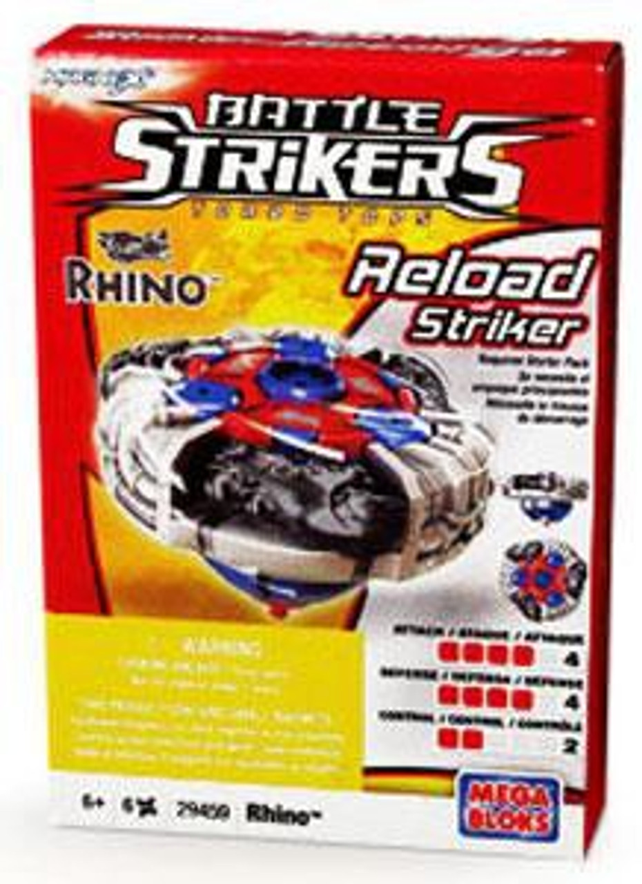 Battle Strikers Reload Striker Rhino Top #29459