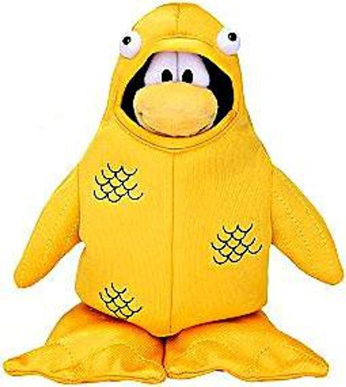 Club Penguin Series 4 12th Fish Costume 6.5-Inch Plush Figure
