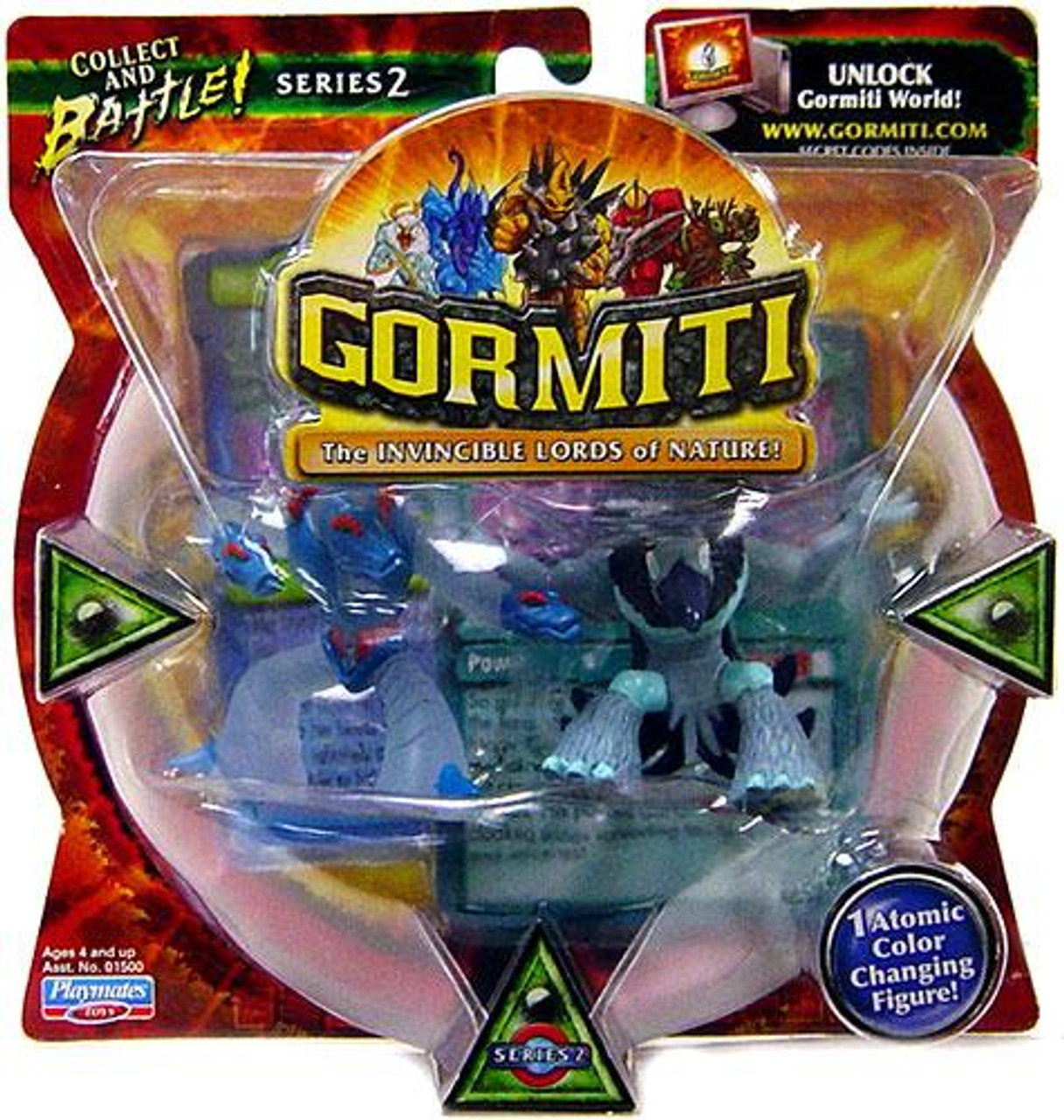 Gormiti Series 2 Moray The Crusher & Magic Crow Mini Figure 2-Pack [Random Colors]