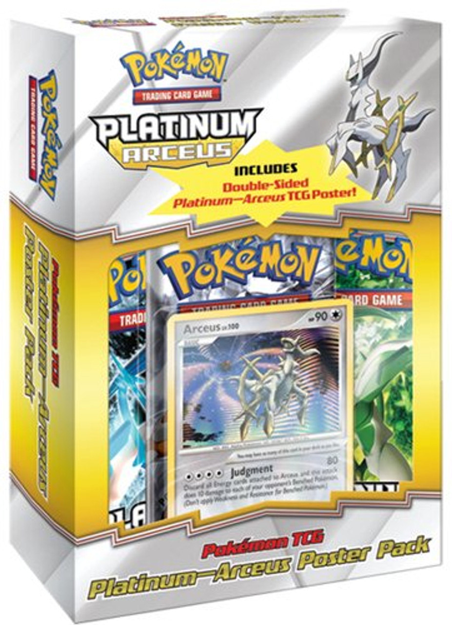 Pokemon Arceus Poster Pack