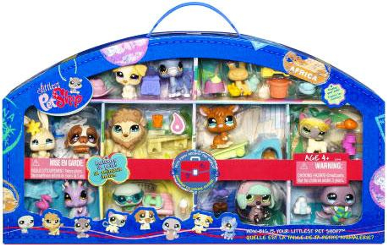Littlest Pet Shop Pets From Around the World Exclusive Figure Set [2009]