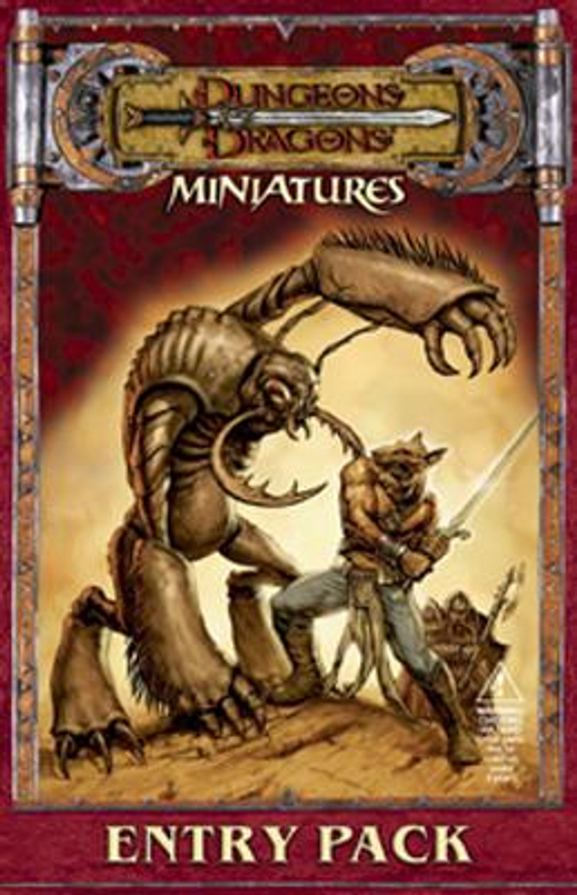 Dungeons & Dragons Miniatures Entry Pack Starter Set