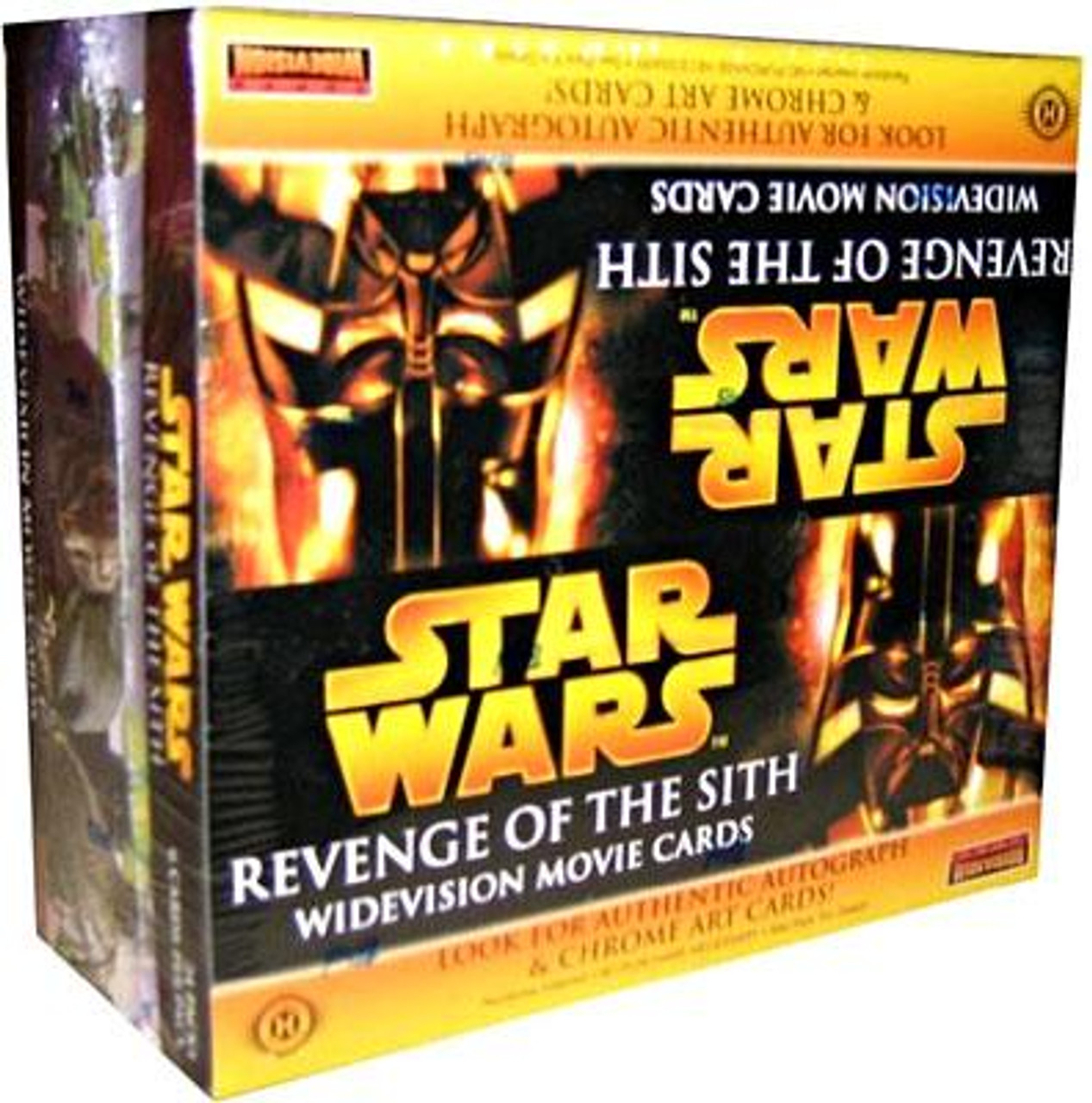 Star Wars Revenge of the Sith Widescreen Trading Card Box