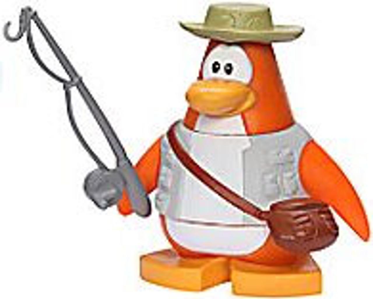 Club Penguin Fisherman 2-Inch Mini Figure