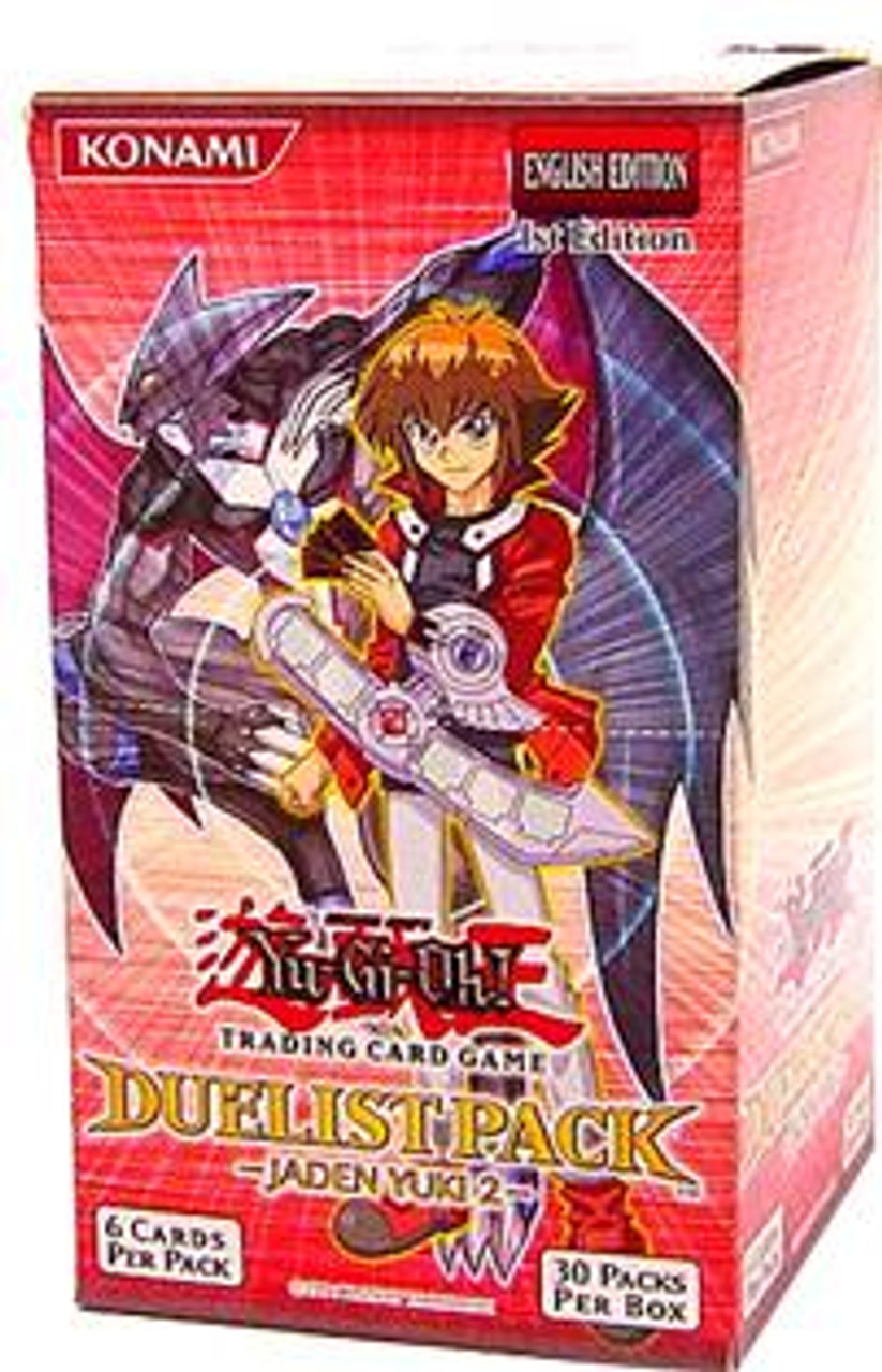 YuGiOh Duelist Pack Jaden Yuki 2 Booster Box [30 Packs] [Sealed]