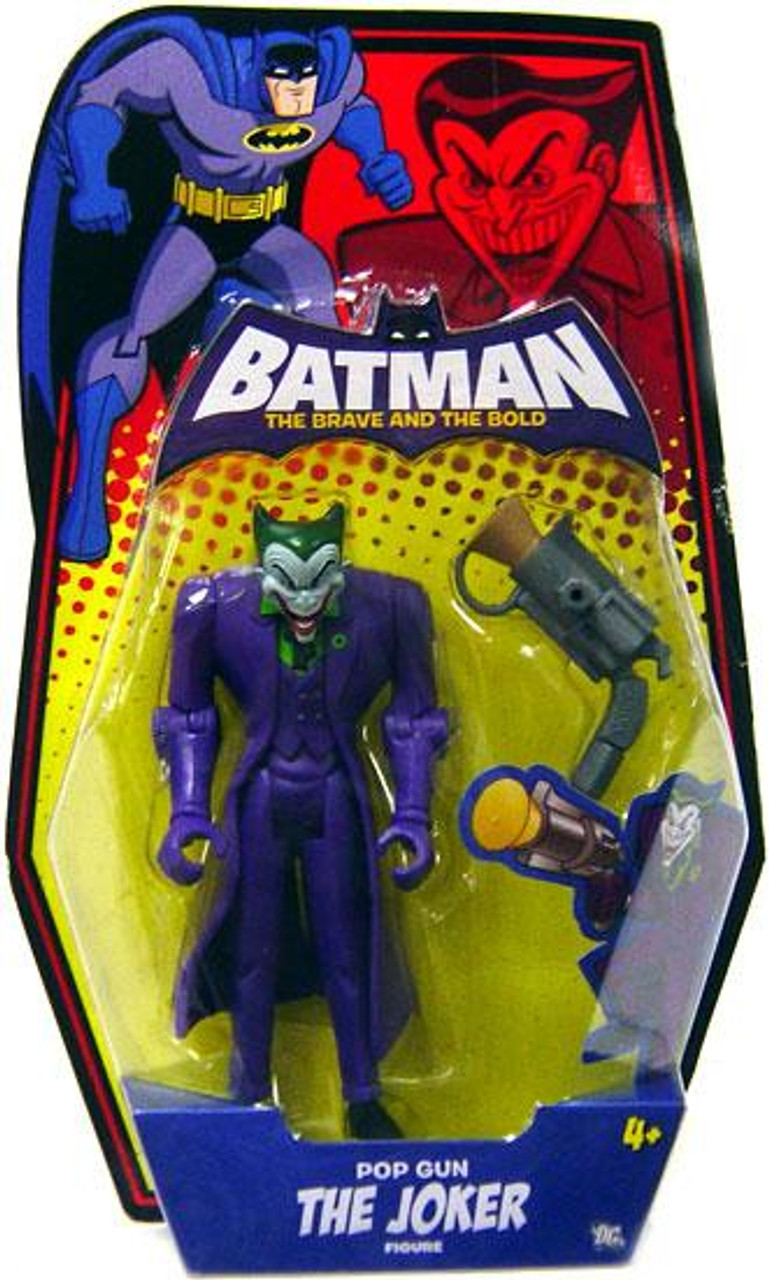 Batman The Brave and the Bold Pop Gun The Joker Action Figure