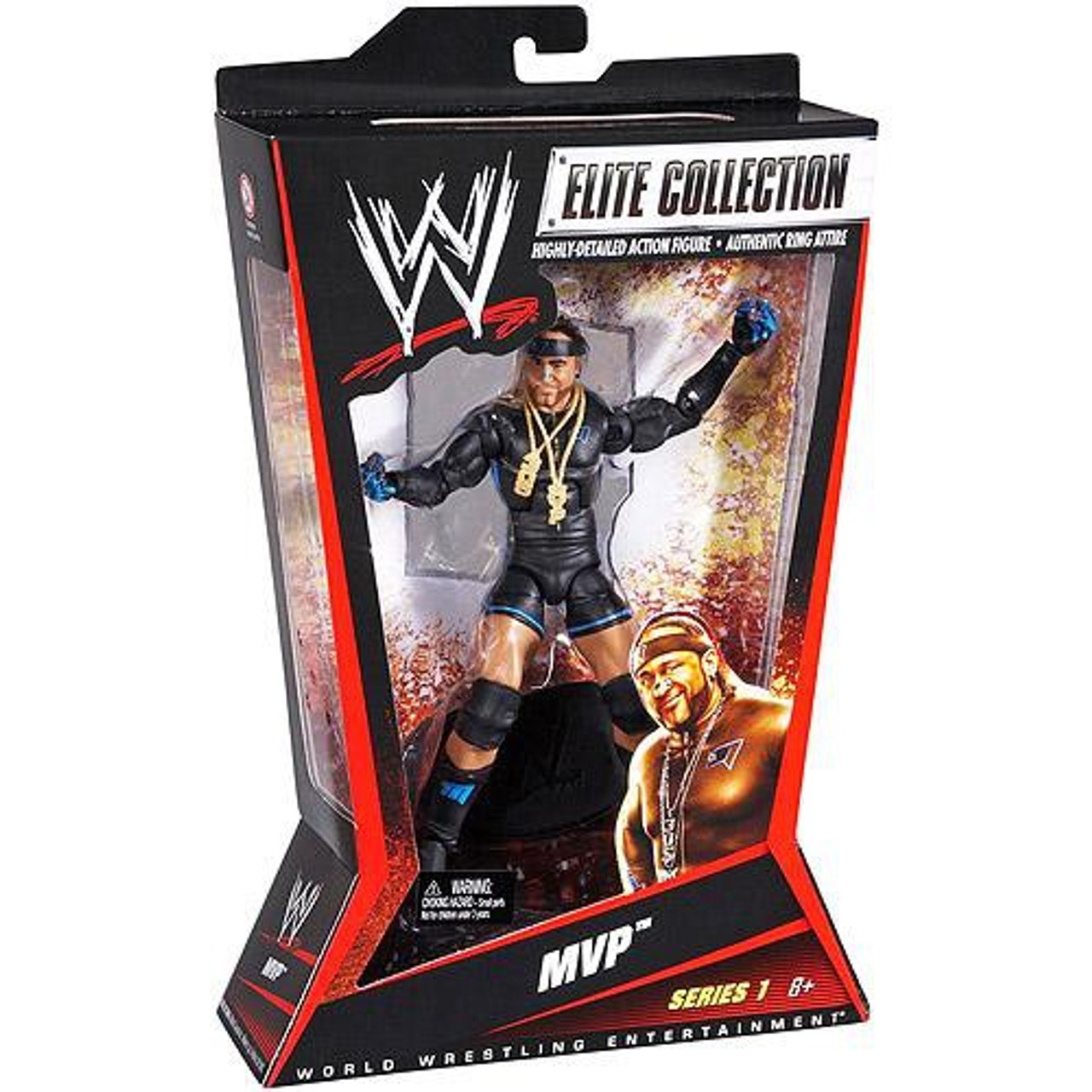 WWE Wrestling Elite Series 1 MVP Action Figure