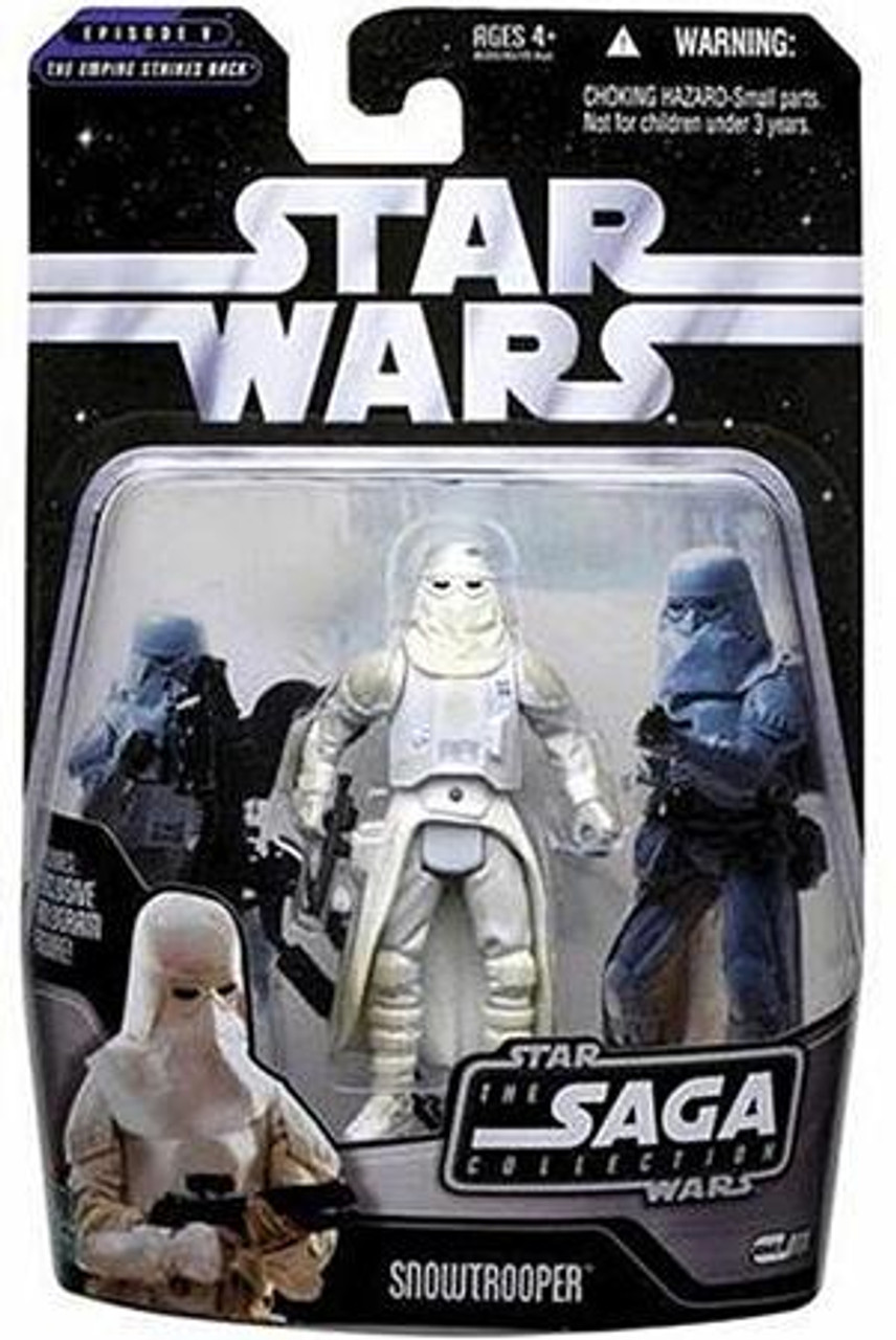 Star Wars Empire Strikes Back Saga Collection 2006 Snowtrooper Action Figure #11