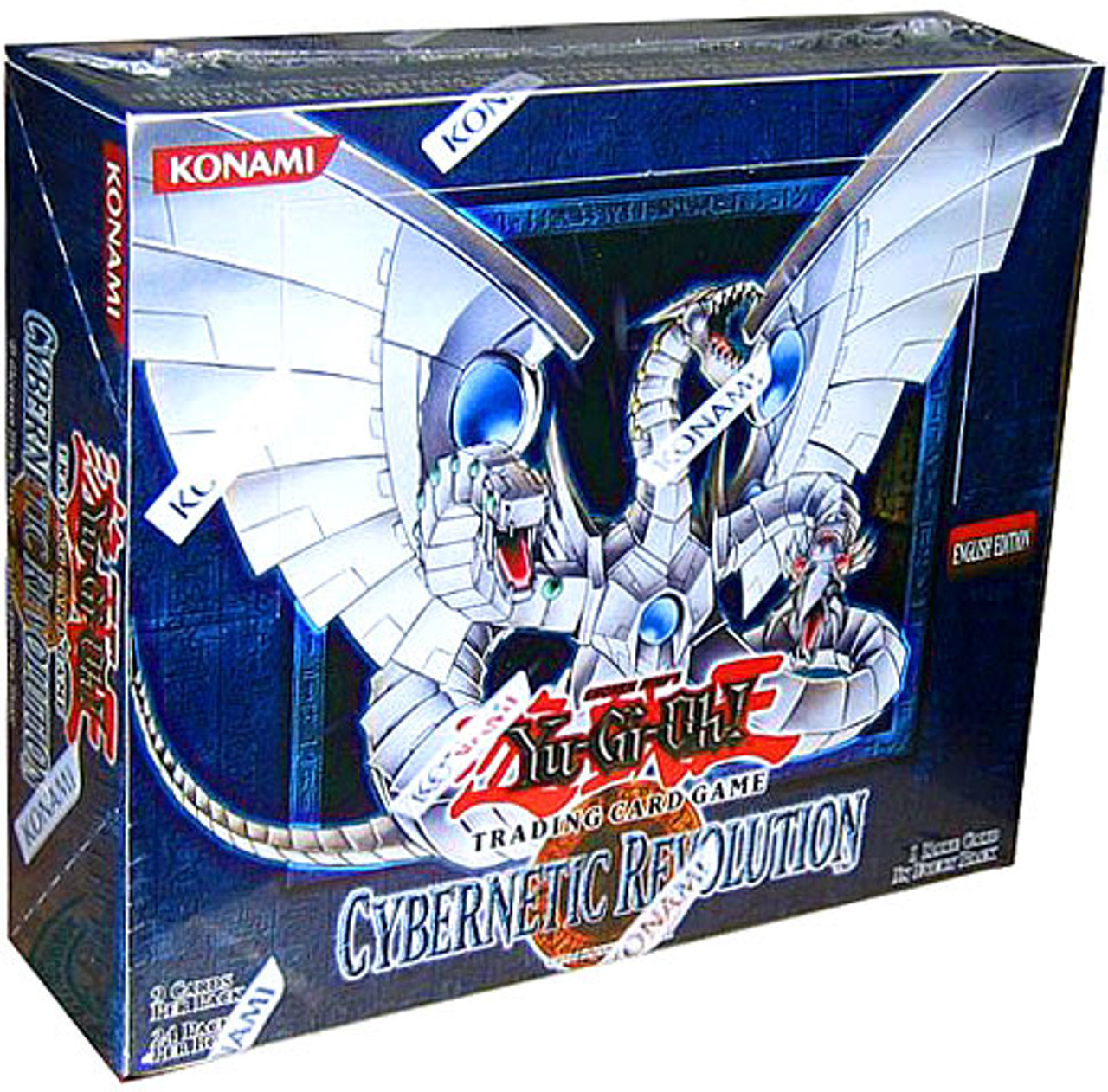 YuGiOh Cybernetic Revolution Booster Box [24 Packs] [Sealed]