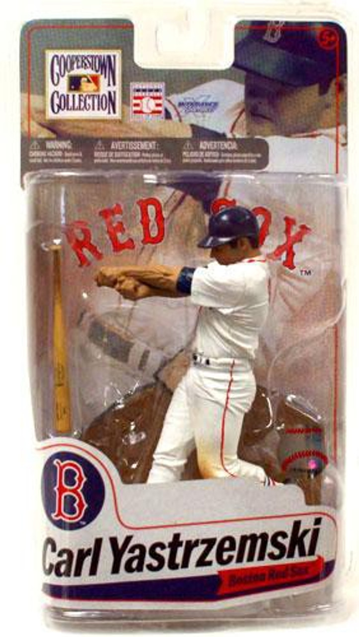 McFarlane Toys MLB Cooperstown Collection Series 7 Carl Yastrzemski Action Figure [White Jersey]