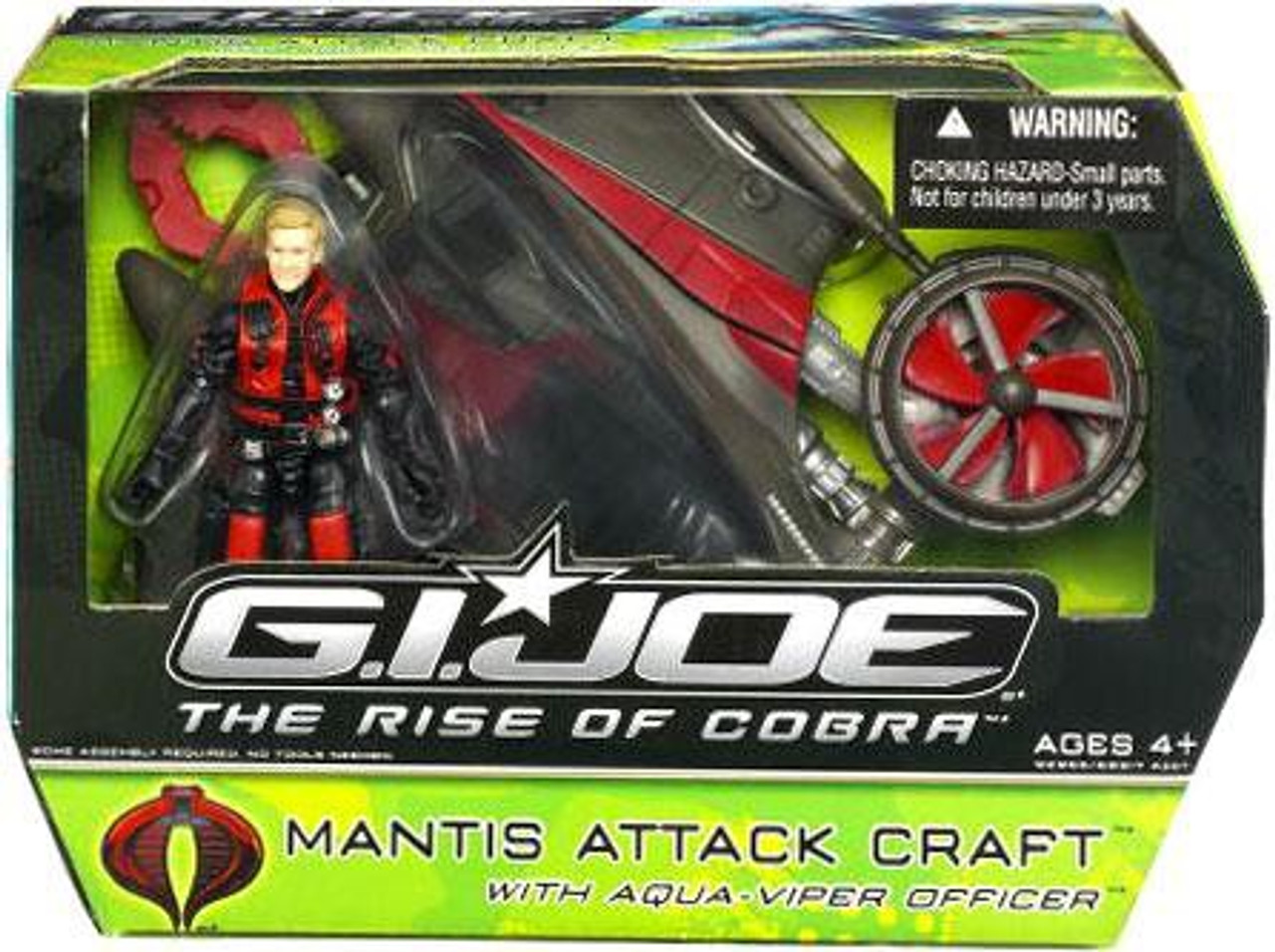 GI Joe The Rise of Cobra Mantis Attack Craft Action Figure Vehicle