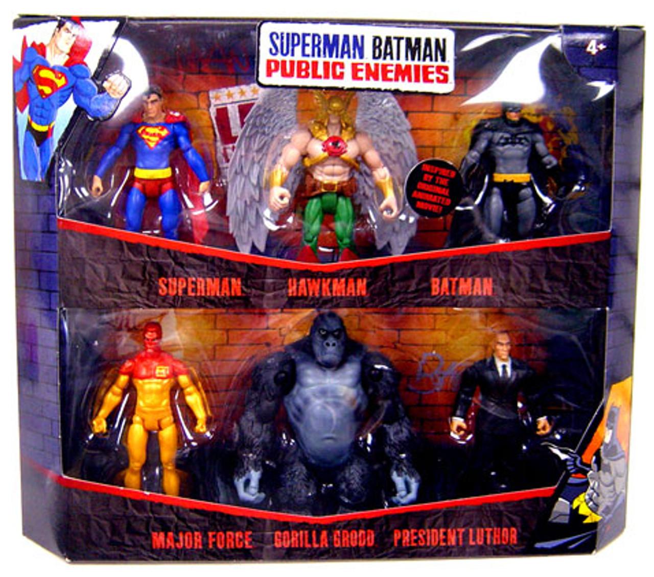 Batman Public Enemies Action Figure 6-Pack
