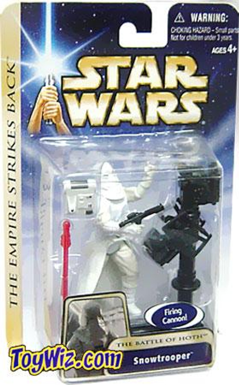 Star Wars Empire Strikes Back Basic 2004 Snowtrooper Action Figure #19 [The Battle of Hoth]