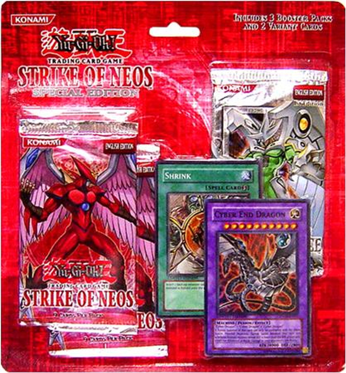 YuGiOh Strike of Neos Special Edition Pack [Sealed]