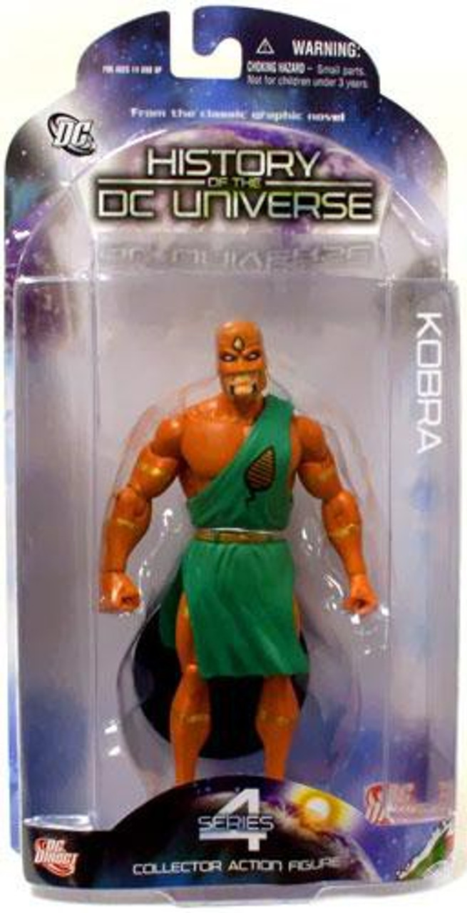 History of the DC Universe Series 4 Kobra Action Figure