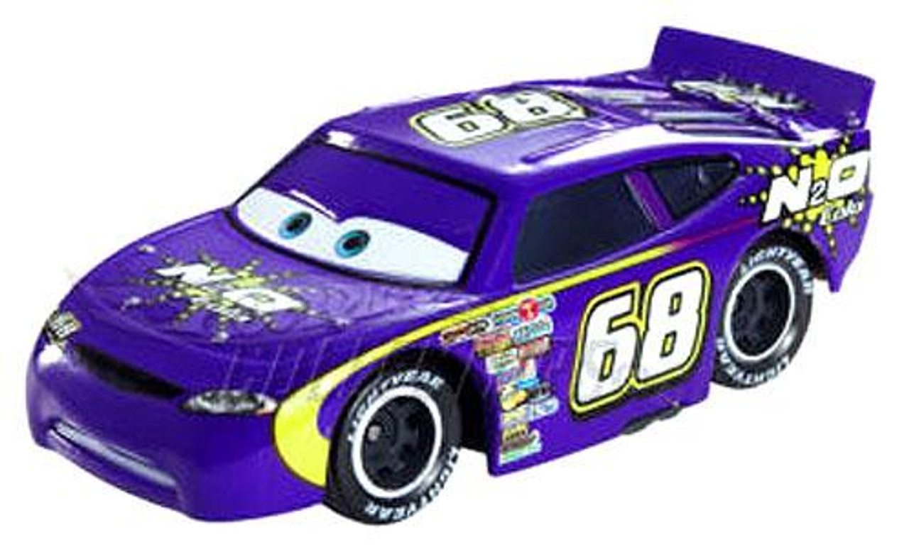 Disney Cars Loose N2O Cola with Rubber Tires Diecast Car [Loose]
