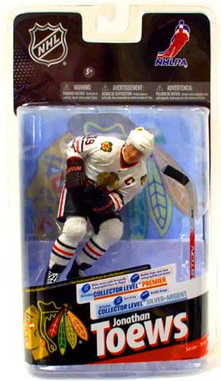 McFarlane Toys NHL Chicago Blackhawks Sports Picks Series 24 Jonathan Toews Action Figure [White Jersey]