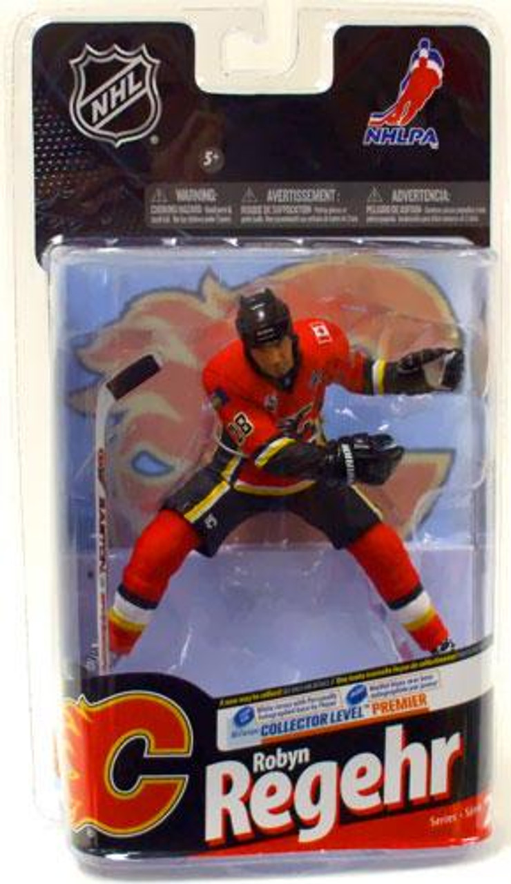McFarlane Toys NHL Calgary Flames Sports Picks Series 24 Robyn Regehr Action Figure [Red Jersey]