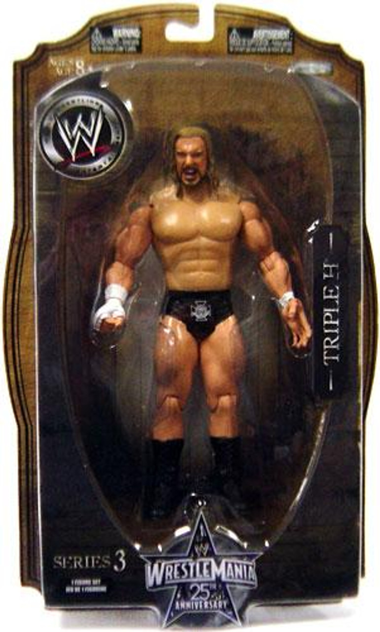 WWE Wrestling WrestleMania 25 Series 3 Triple H Action Figure