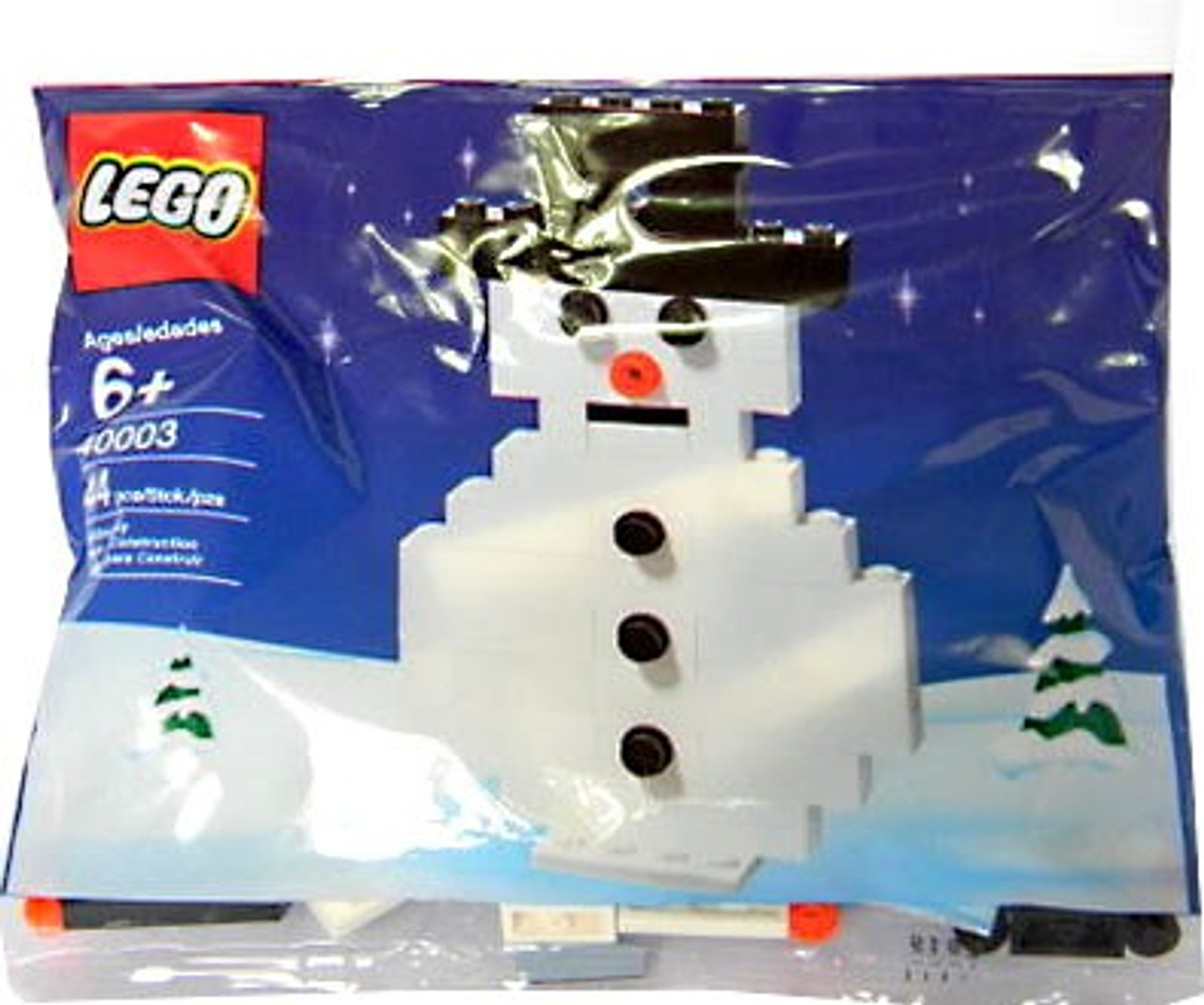 LEGO Snowman Mini Set #40003 [Bagged]