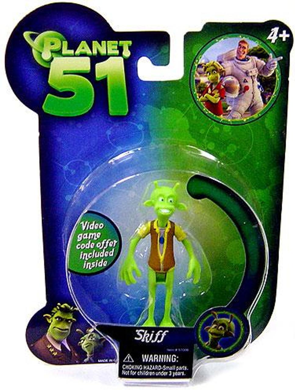 Planet 51 Skiff Mini Figure